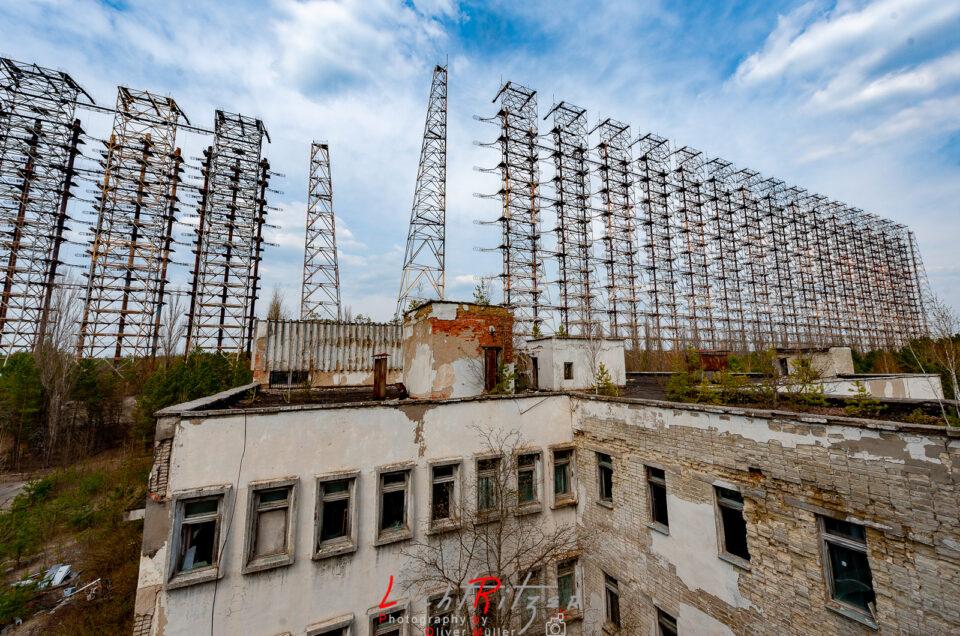 Duga-3 Radaranlage – nähe Tschernobyl