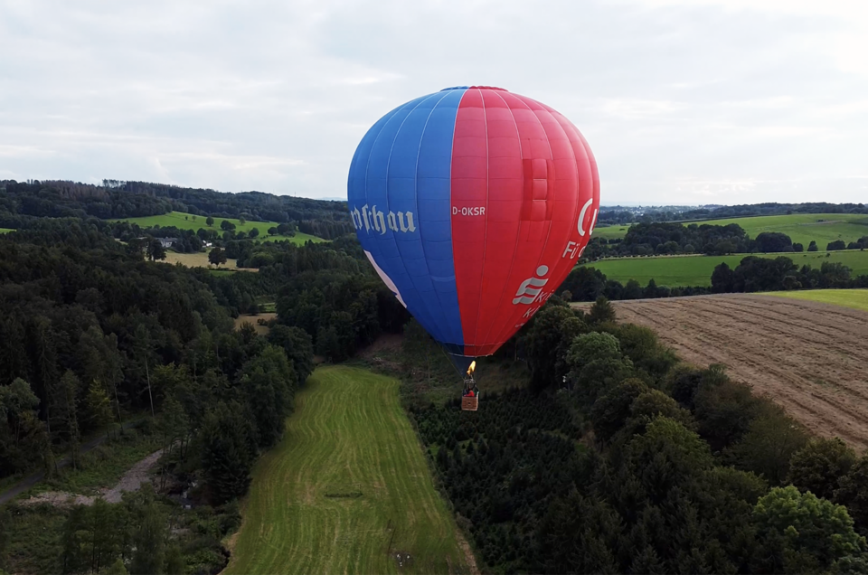 Ballonstart in Wellerscheid